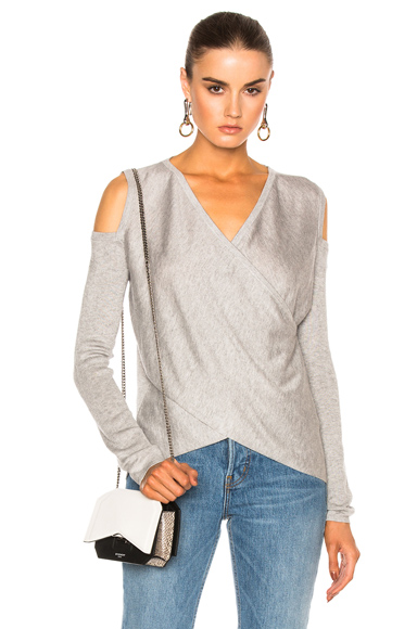 Cross Front Sweater