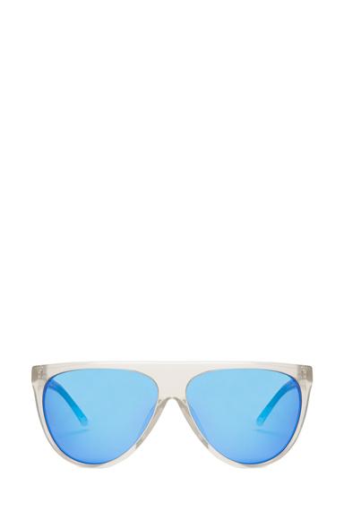 Thick Aviator Sunglasses