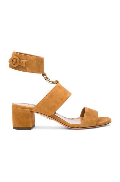 Suede Safari Sandals