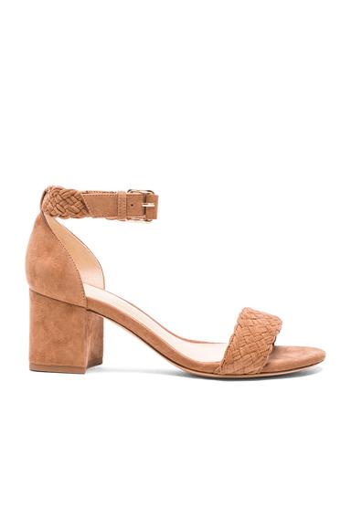 Suede Pauline Heel Sandals