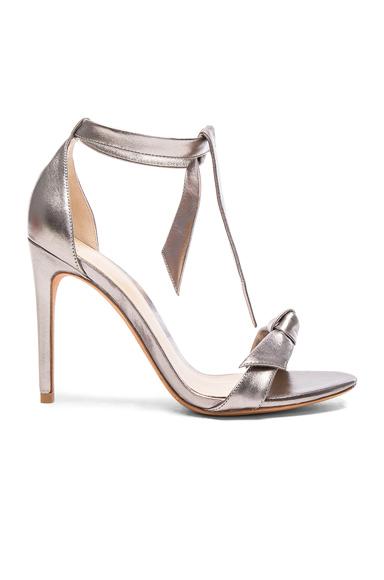 Leather Clarita Heels