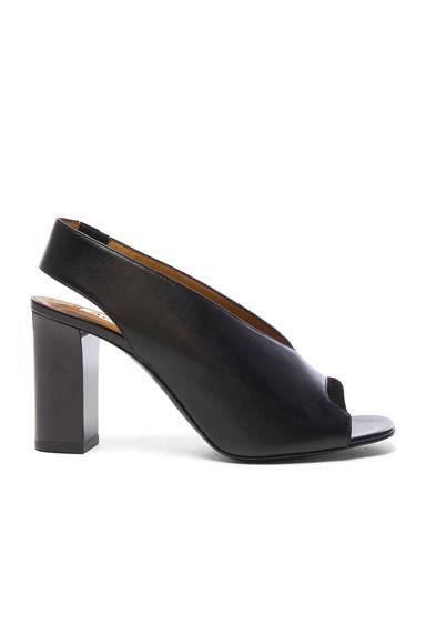 Leather Abbie Heels