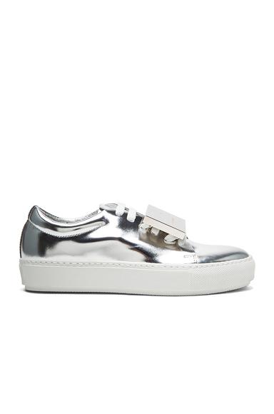 Adriana Metallic Leather Sneakers