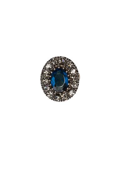Dark Indigo Ring