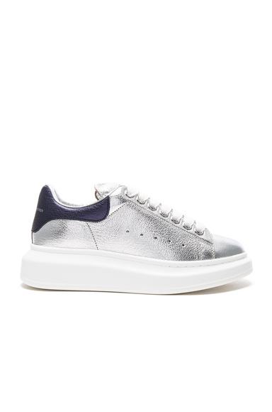 Platform Leather Sneakers