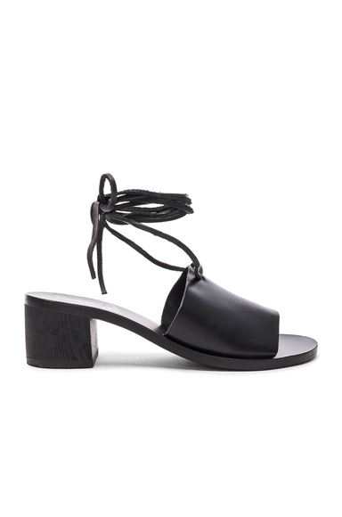 Leather Christina Heels