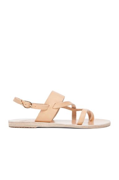 Alethea Calfskin Leather Sandals