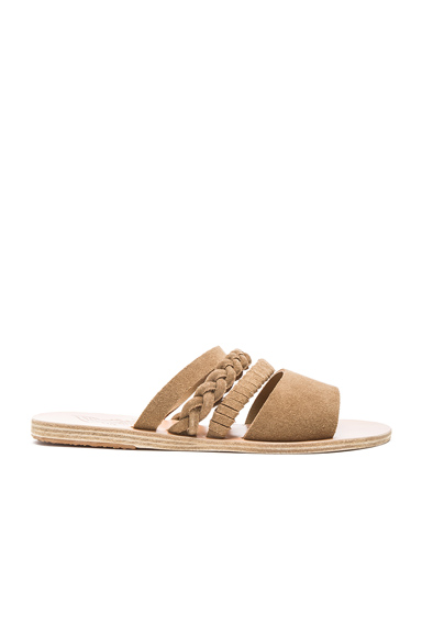 Suede Helene Sandals