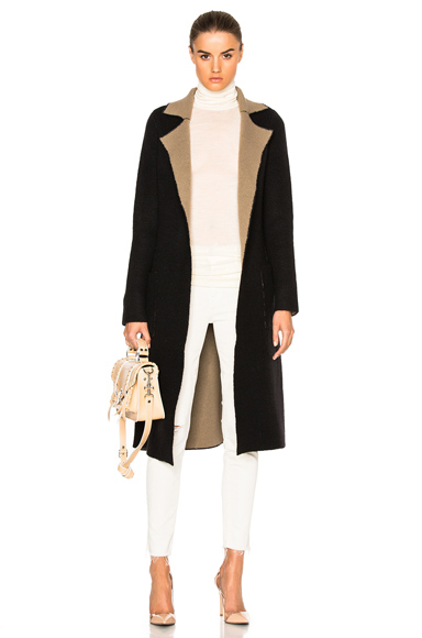 ATM Anthony Thomas Reversible Melillo Felt Wrap Coat