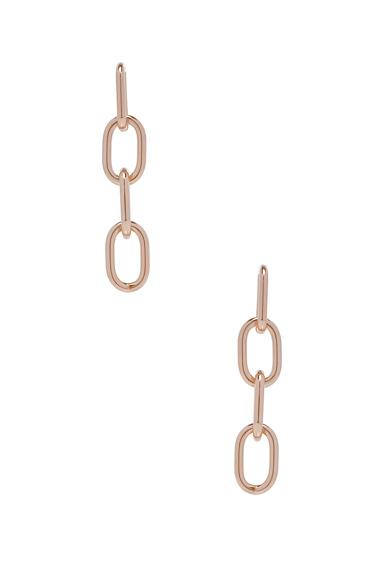 Pierced Four Link Earring