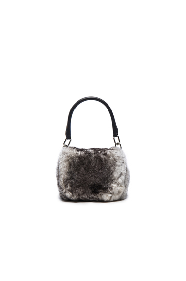 Mini Rabbit Fur Rex Bag