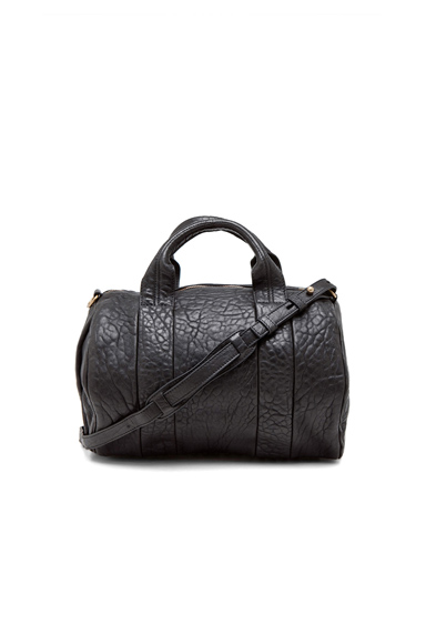 Rocco Satchel with Gold Hardware