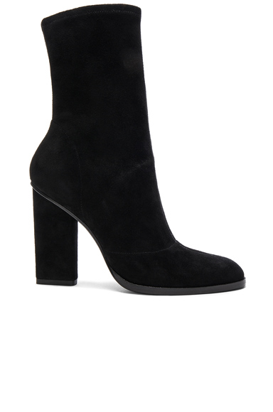 Suede Gia Booties