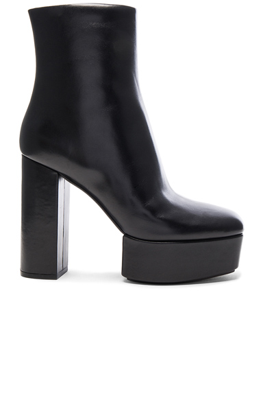 Leather Cora Booties
