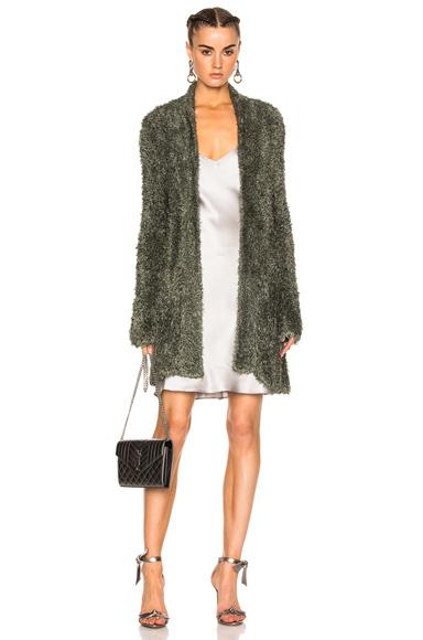 Fuzzy Knit Jacket