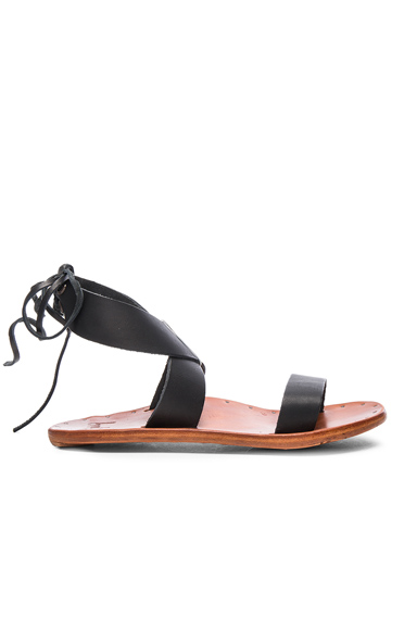 Leather Cardinal Sandals