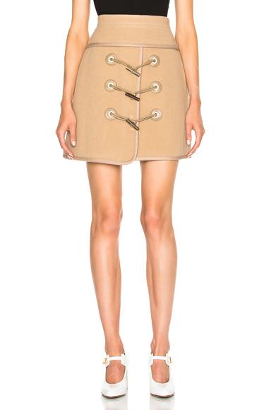 Toggle Mini Skirt