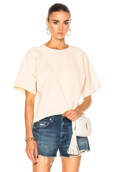 Sage Short Sleeve Fleece