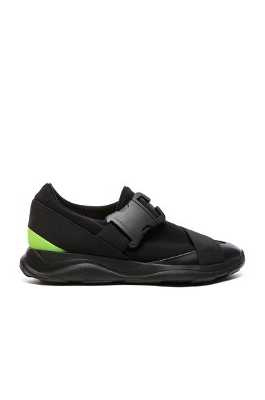 Low Top Neon Spoiler Sneakers