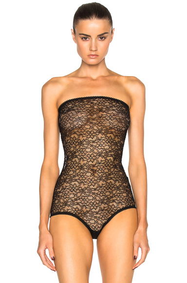 Stretch Lace Bodysuit