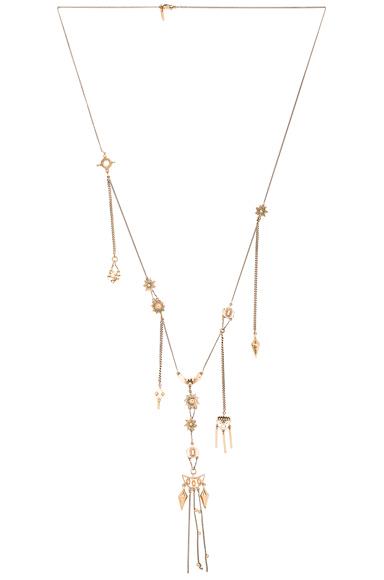 Layton Long Pendant Necklace