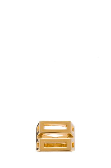 Bianca Brass Ring