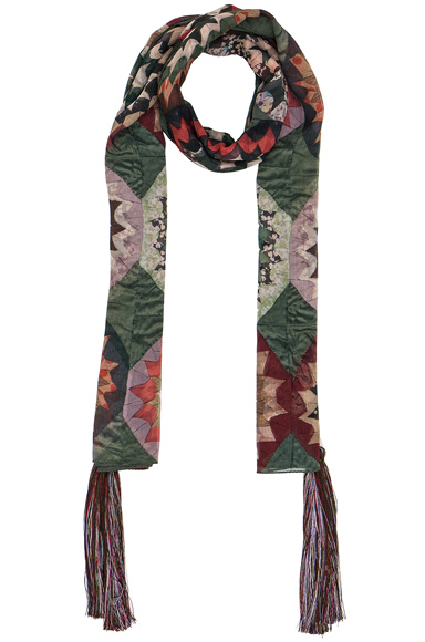 Rosace Patchwork Scarf