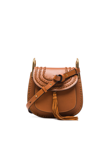 Small Hudson Braided Leather Bag