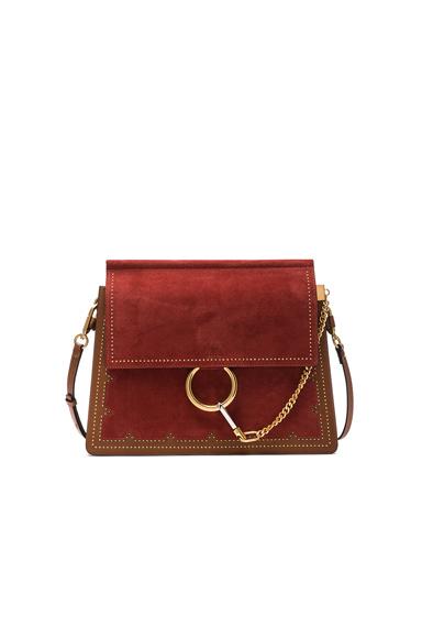 Medium Stud Leather Faye Bag