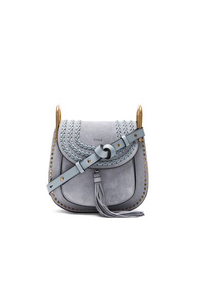 Small Suede Hudson Shoulder Bag