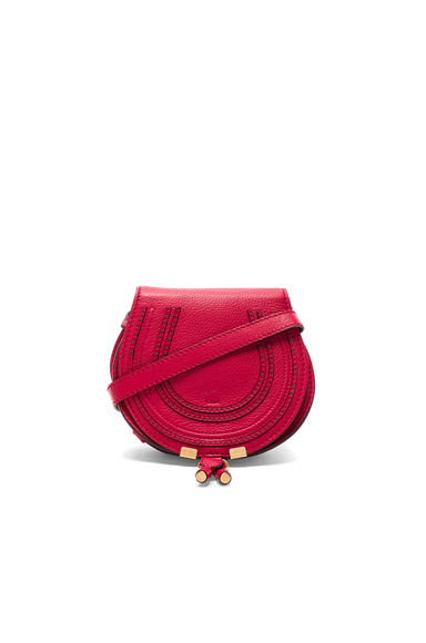 Small Marcie Satchel In Tulip Red