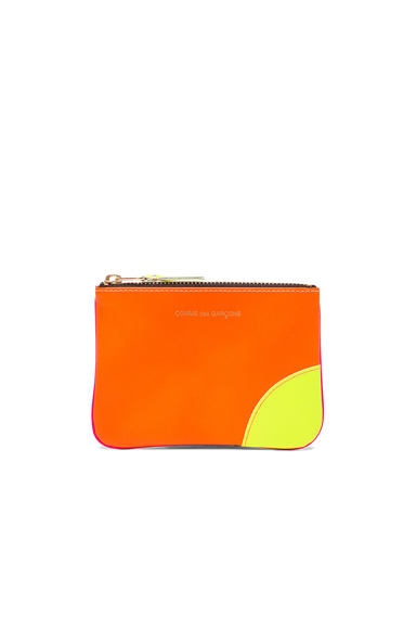 Super Fluo Small Zip Pouch