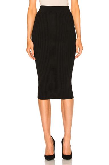 Crisscross Waistband Pencil Skirt