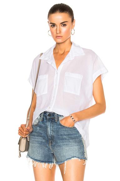 Sleeveless Boxy Shirt
