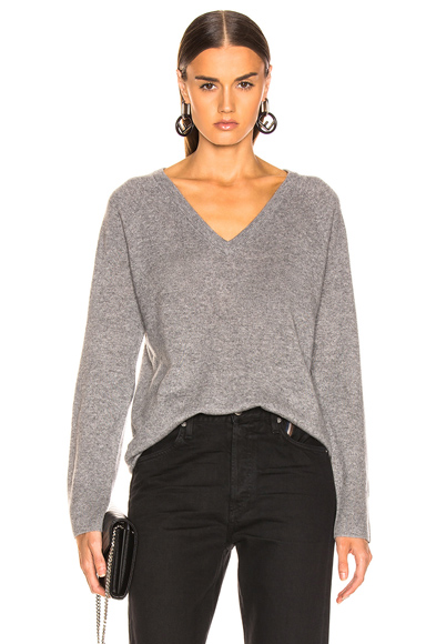 Asher Cashmere V Neck