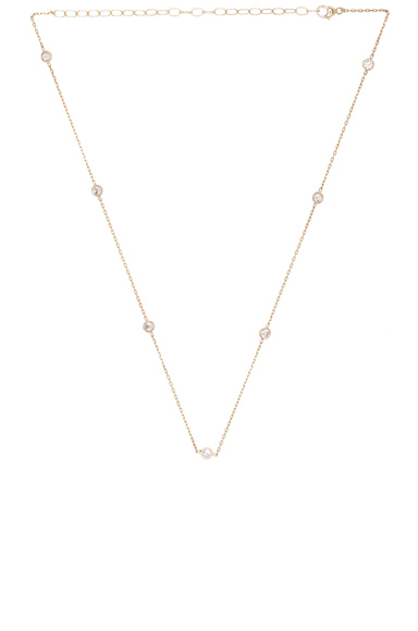 14K Gold Diamond Choker