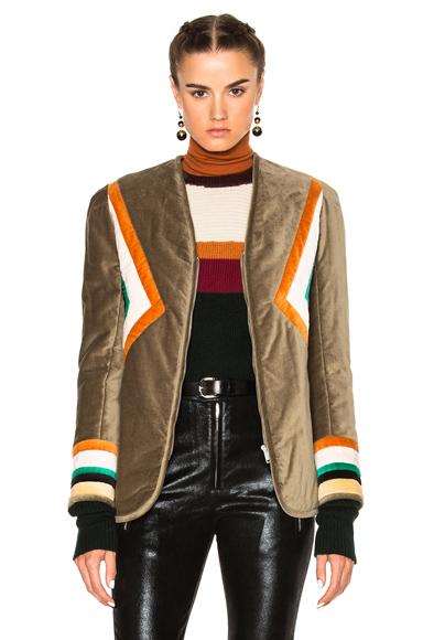 Lalia Velvet Patch Jacket