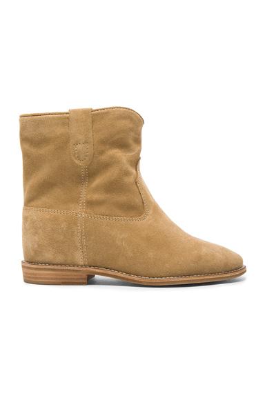 Crisi Velvet Boots