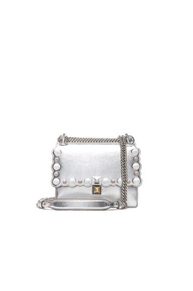 Embellished Kan l Shoulder Bag