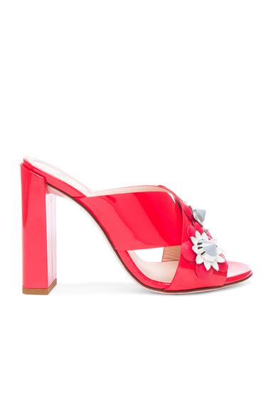 Patent Leather Crisscross Heels