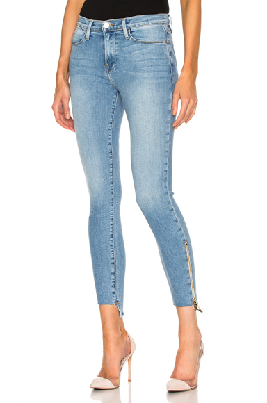 Le High Skinny Stagger Zip