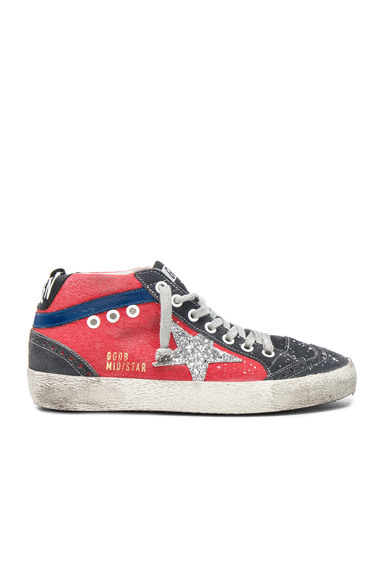 Canvas Mid Star Sneakers