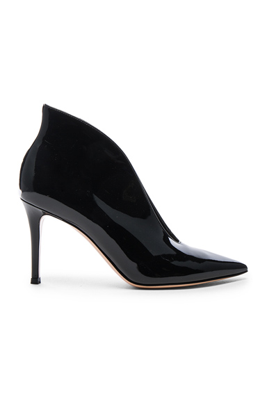 Patent Cut Out Heels