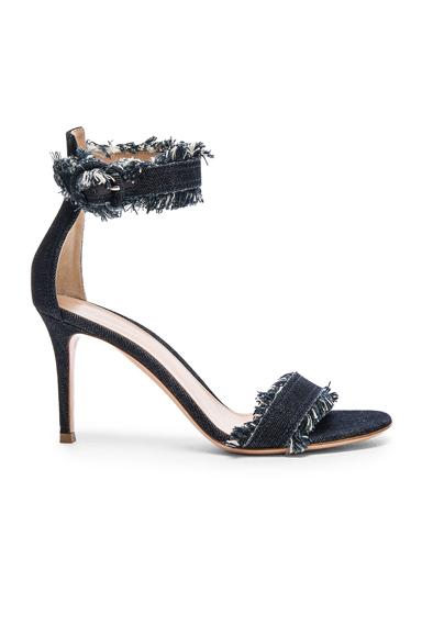Denim Portofino 85 Heels