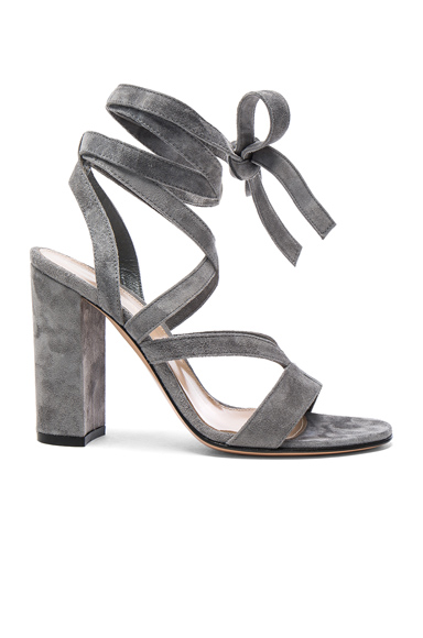 Suede Janis High Sandals