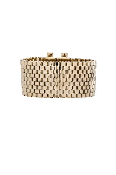 Mesh Octagon Bracelet