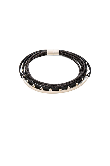 Leather & Metal Choker