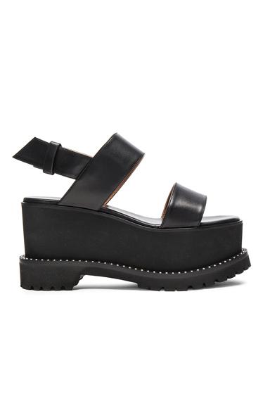 Leather Ursa Flatform Sandals