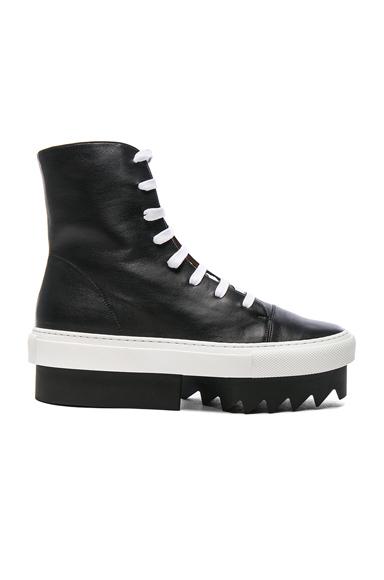 Lace Up Platform Skate Sneaker