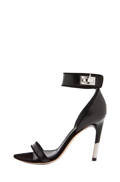 Guerra Nappa Leather Heel